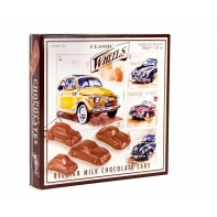 Wheels milk chocolate cars with praline filling 200g